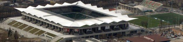 Stadion Legii - zdjęcie z lotu ptaka