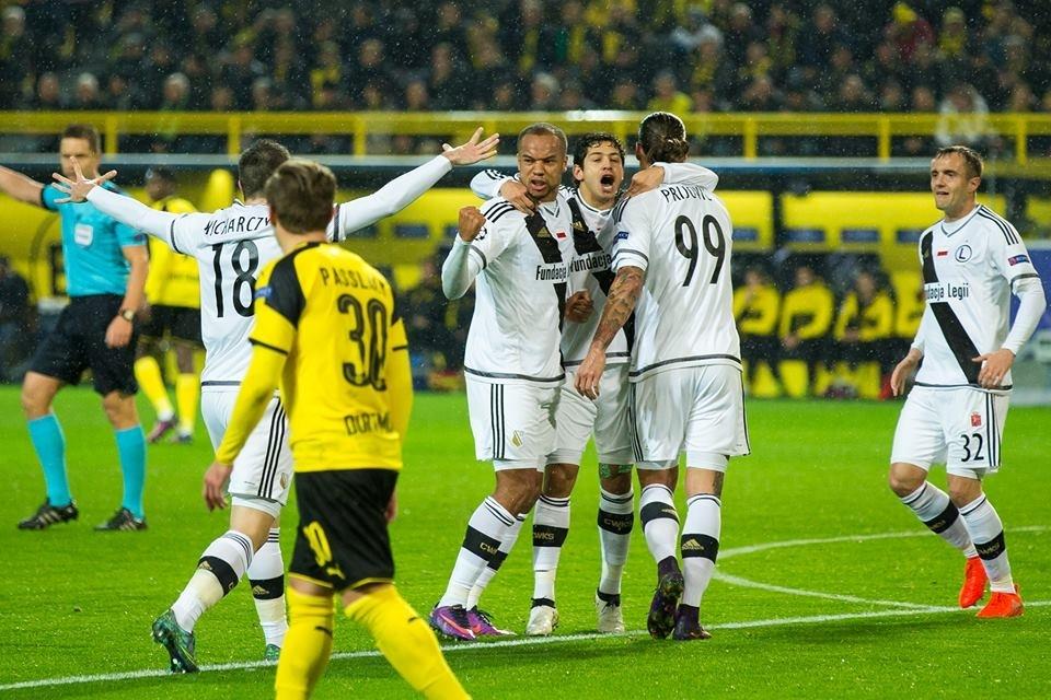 b43550b6e Legia.Net - Legia Warszawa - Borussia - Legia 8:4 (5:2) - Dortmundzki kocioł