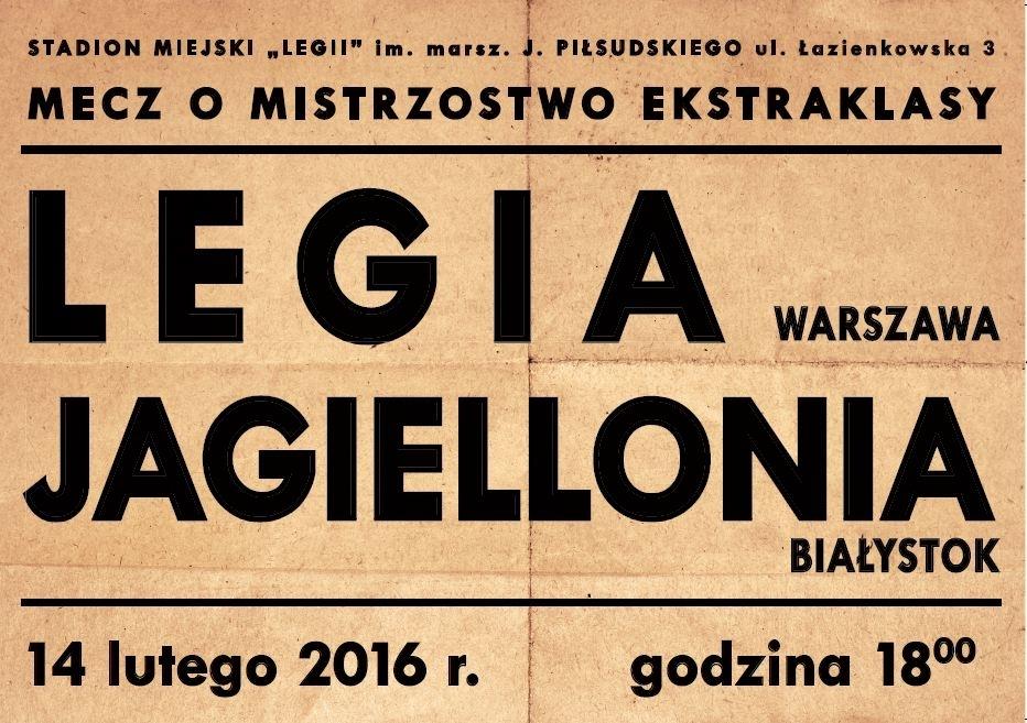Legianet Legia Warszawa Plakaty W Stylu Retro I Ponad